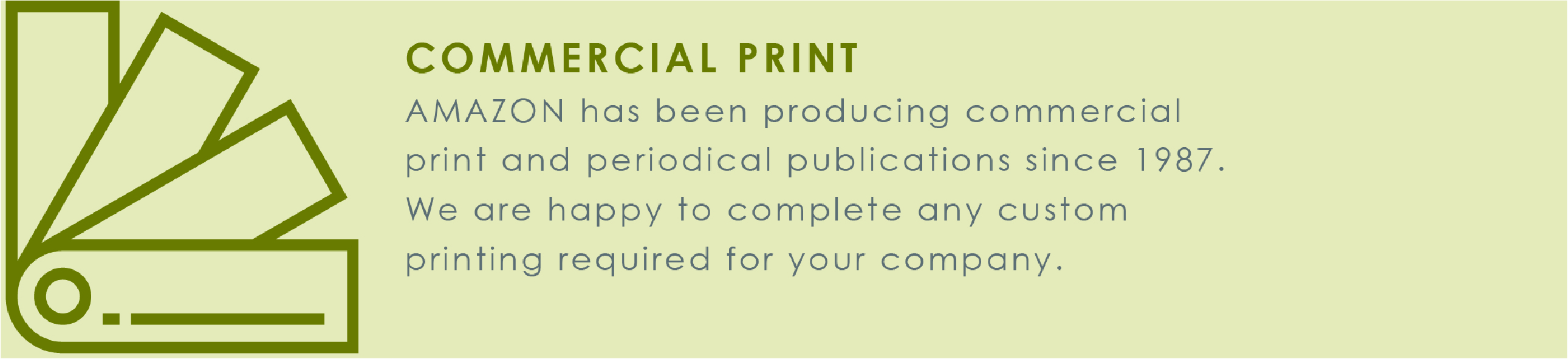 Commercial Print